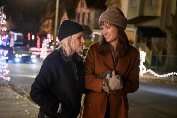 We're obsessed! Trailer drops for Kristen Stewart's festive lesbian rom-com