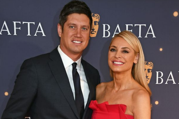 Tess Daly shares rare family photo as husband Vernon Kay enters I'm A Celeb
