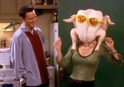 'Friends' star Courteney Cox recreates her famous turkey dance for Thanksgiving