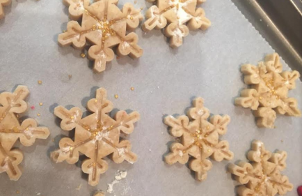 """Gluten free Christmas cookies recipe from new book """"Baking from the Heart"""""""
