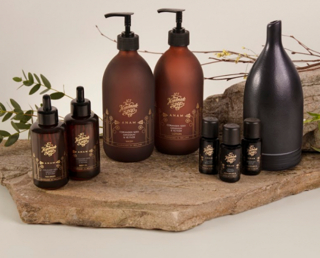 The Handmade Soap Company new range is divine and sustainable too
