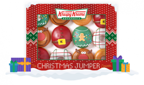 Krispy Kreme deliversdelicious Christmas jumper range