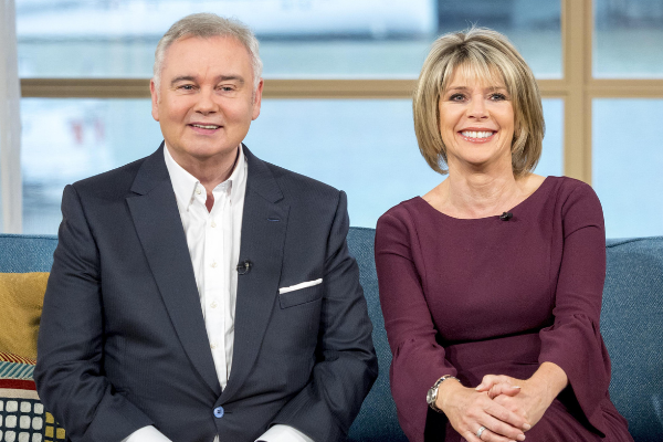 Eamonn Holmes proudly announces he's going to be a Grandad on This Morning