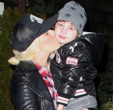 Christina Aguilera shares rare and hilariously cute Christmas kids snaps