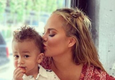 Strong mum; Chrissy Teigen shares miscarriage grieving process