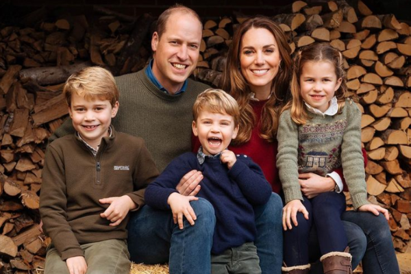 Will and Kate share adorable new photo of Prince George on his 8th birthday