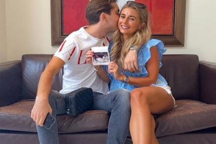Love Island's Dani Dyer and boyfriend Sammy welcome the birth of their first baby