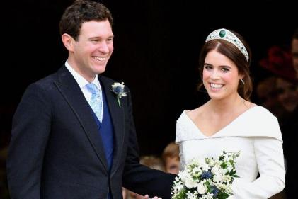 Princess Eugenie and Jack Brooksbank welcome the birth of their first child