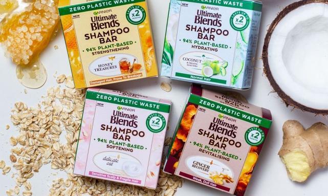 Garnier launches first mainstream zero plastic waste shampoo bar