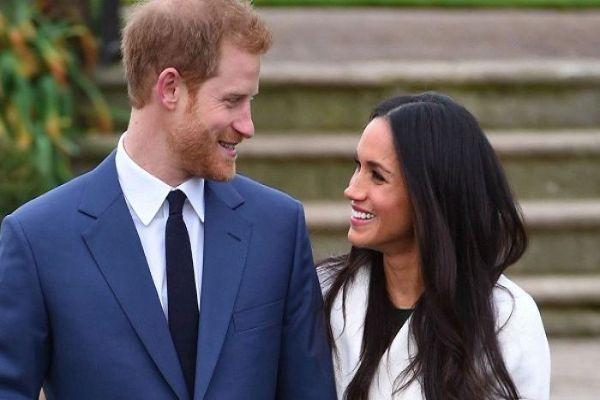 Meghan and Harry make first public appearance since pregnancy news