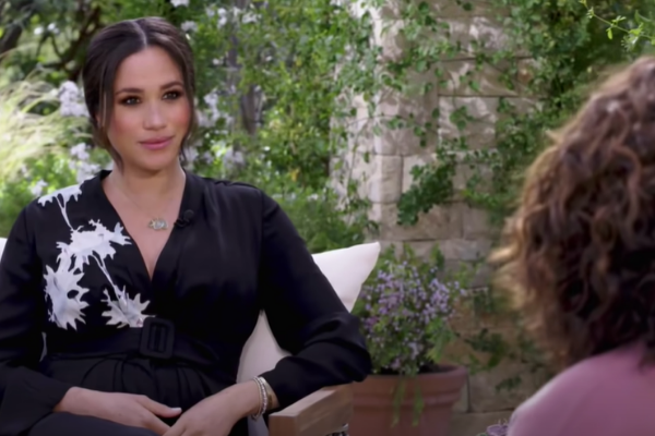 "Watch the teaser for Oprah's ""shocking"" interview with Meghan & Harry"