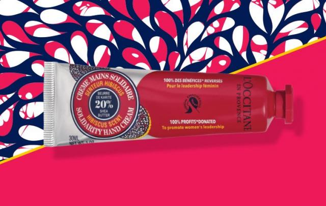 L'Occitane launches new Solidarity Hand Cream continuing their support for women