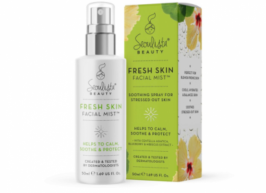 Seoulista Beauty launches Fresh Skin Facial Mist to calm & soothe stressed-out skin