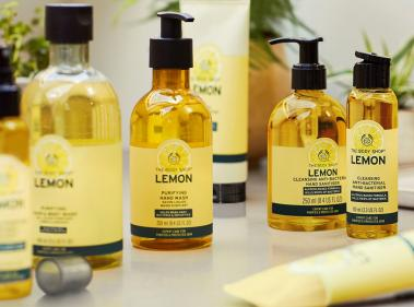 Purify & protect with the new lemon range from The Body Shop