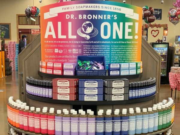 Dr. Bronner's is calling for consumers to go green to celebrate World Earth Month