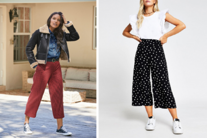 8 cool and comfy pairs of culottes to add to your spring/summer wardrobe