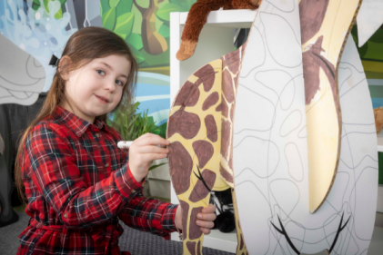 Looking for a fuss-free activity to keep the kids busy? Check out Cardboard Jungle