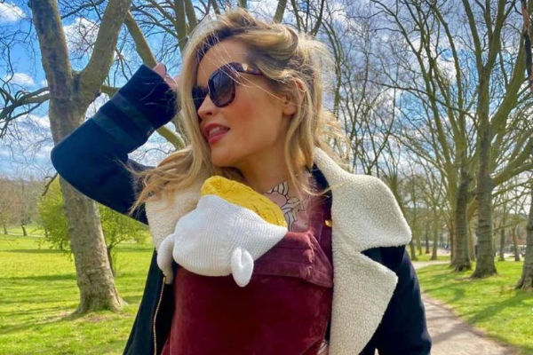 Love Island's Laura Whitmore seemingly confirms her daughter's special name