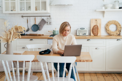 How to create a WFH space in your kitchen without sacrificing space or style
