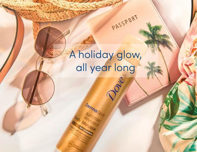 Want sun-kissed holiday skin without the holiday? Dove has you covered this summer.