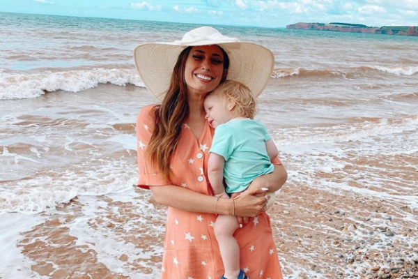 Stacey Solomon rushed 2-year-old son Rex back to hospital last night