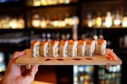 Celebrate International Sushi Day with one of these Tofu Uramaki Rolls