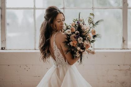 Pretty! The perfect wedding dress styles according to your star sign