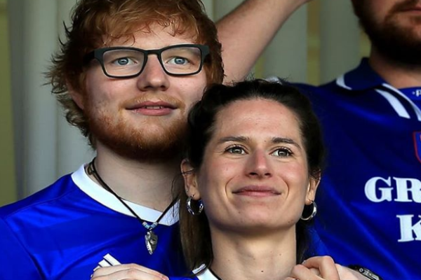 Ed Sheeran & wife Cherry asked famous Irish musician to be their daughter's godfather
