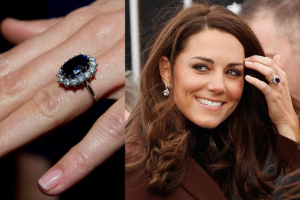 People are going crazy for coloured engagement rings, and were with them