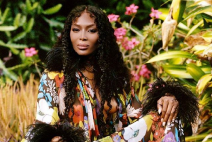 Naomi Campbell's baby girl is already a fashion icon in sweet new snap