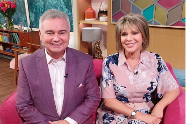 Eamonn Holmes proudly announces he's become a grandad on This Morning