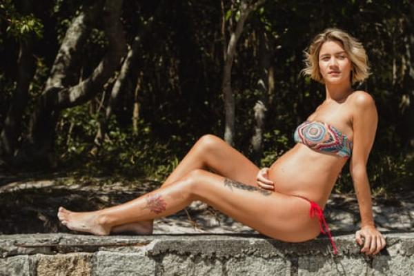 7 stunning maternity swimwear options for stretch, comfort and support!