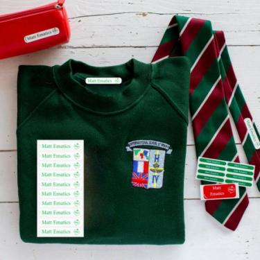 Never lose a school jumper again with Mine4Sure's genius back-to-school hack!