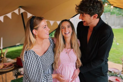 YouTuber Zoe Sugg (Zoella) shares sweet snaps from her picnic chic baby shower
