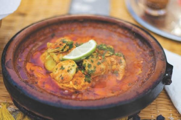 Get that Omega 3 intake up with this spicy seafood stew!