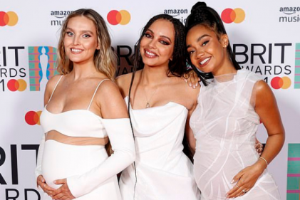 Perrie Edwards is simply glowing after sharing snaps from her pregnancy photoshoot