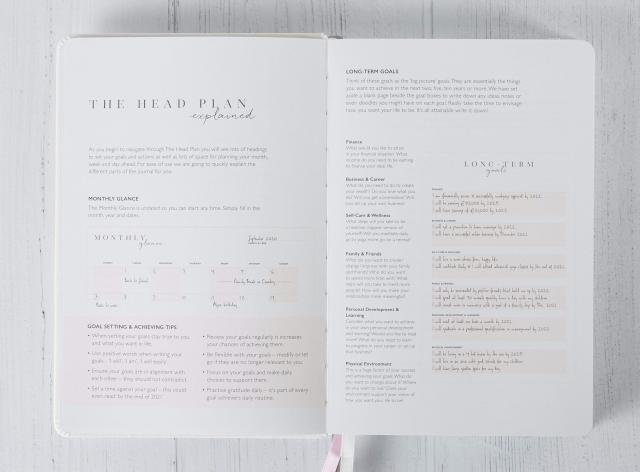 Need a little more positive energy in your life? Try out The Head Plans gratitude journal!