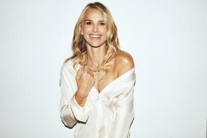 Irish mum, Vogue Williams, launches new Body Illuminator for a luminous glow