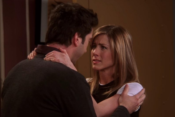 Jennifer Aniston finally addresses those dating rumours with David Schwimmer