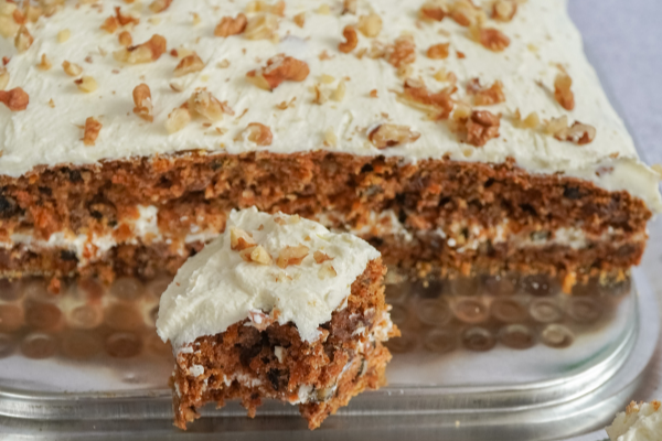 Recipe: This simple gluten-free carrot cake is absolutely scrumptious