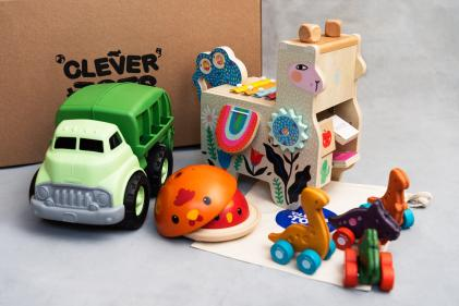 Clever Tots Toy Club launches – the first sustainable toy club!