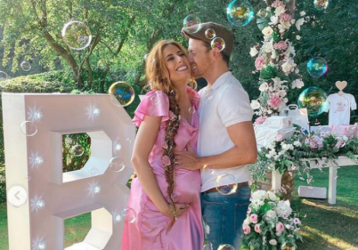 Stacey Solomon shows off her bedroom transformation in new country home