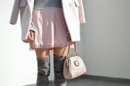Styling a slip dress for autumn weather: Stock up on layers!