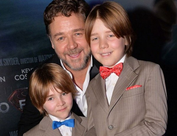 Russell Crowe 'jealous' his ex-wife's partner sees his kids