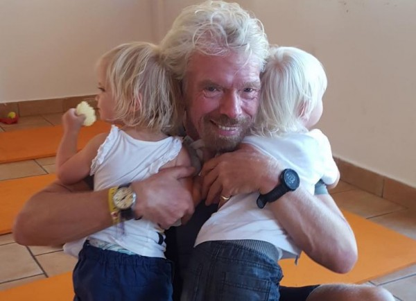 Sir Richard Branson is a grandfather again - and we LOVE ...
